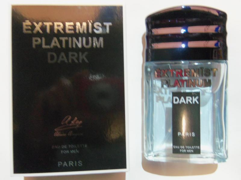 Вода туалетная для мужчин «Extremist Platinum Dark» (объем 90 мл) ALAIN AREGON