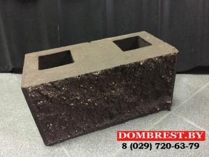 Фото  Блоки демлер, цементно-песчаные блоки, блоки декоративные, рваный камень в Бресте.