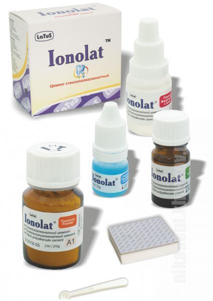 Фото Для стоматологических клиник, Материалы, Цементы Ionolat (Ионолат - Latus)