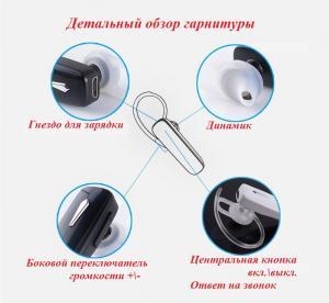 Фото Наушники Гарнитуры MAIF M1 стерео гарнитура Bluetooth мини наушник беспроводной с микрофоном