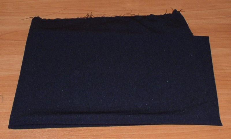 Отрез ткани: крепдешин (1,82 м2) *6852