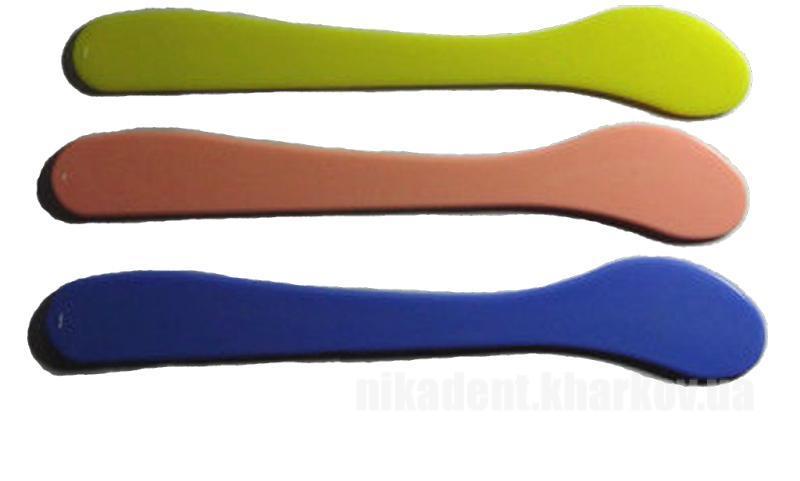 Фото Для зуботехнических лабораторий, АКСЕССУАРЫ, Инструменты Шпатель пластиковый для замешивания оттискных масс / гипса