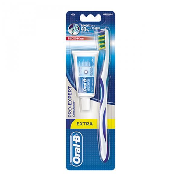"""Зубная щетка """"oral-b"""" + зубная паста """"Blend-a-med"""" 15 ml"""