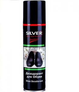 Дезодорант для обуви 150мл Silver