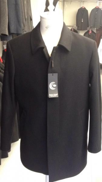 Зимнее классическое мужское пальто