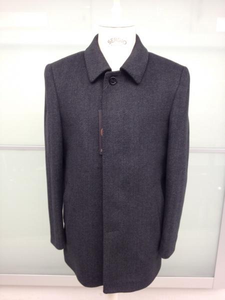Классическое мужское пальто Anzi