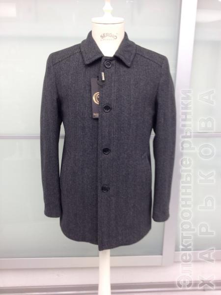 Пальто мужское зимнее кашемировое - Пальто мужское на рынке Барабашова