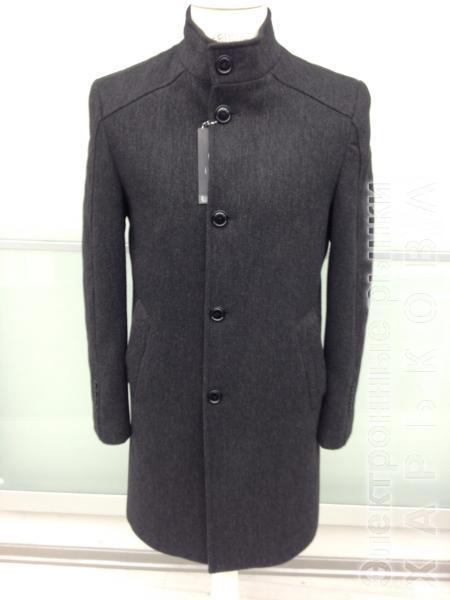 Мужское шерстяное демисезонное пальто. Модель 719 - Пальто мужское на рынке Барабашова