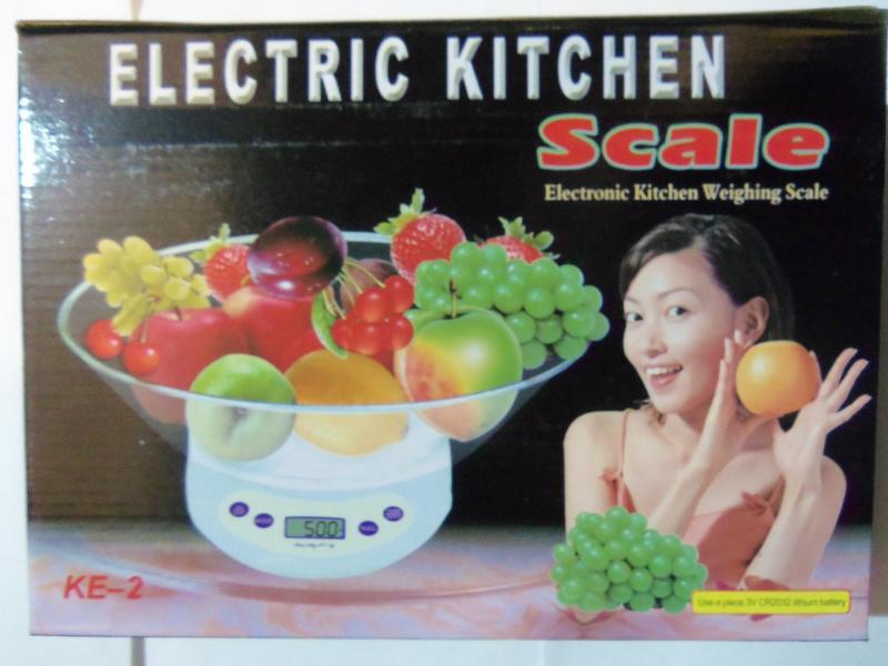 Весы кухонные с чашкой ELECTRIC KITCHEN. электронные КЕ-2