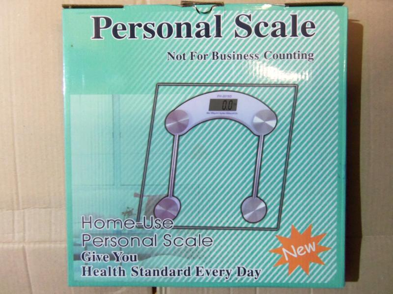 Весы для взвешивания электронные PERSONAL SCALE