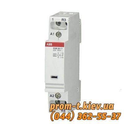 Фото Контакторы электромагнитные постоянного и переменного тока, Контактор ABB Контактор ABB ESB 20-20