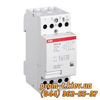 Фото Контакторы электромагнитные постоянного и переменного тока, Контактор ABB Контактор ABB ESB 24-13