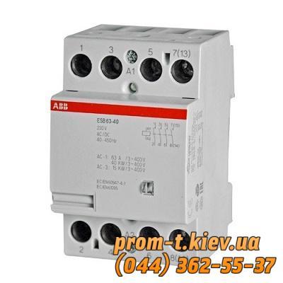Фото Контакторы электромагнитные постоянного и переменного тока, Контактор ABB Контактор ABB ESB 63-40
