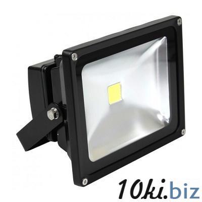 Светильник светодиодный (прожектор) черный COB 50W Eurolamp, цена фото купить в Киеве. Раздел Прожекторы светодиодные