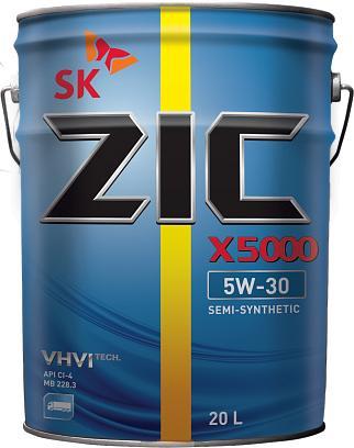 ZIC X 5000 5W30 6л Diesel
