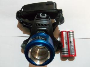 Фонарик в лоб аккумуляторный линзовый BL2177-T6