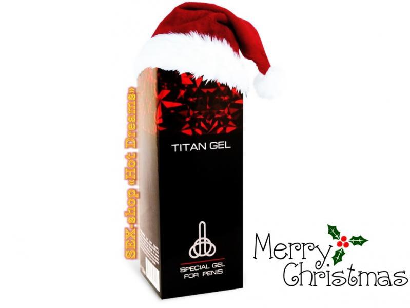 Крем-гель Титан для улучшения потенции и увеличения члена