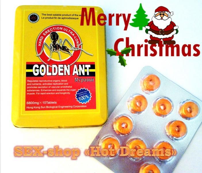 Мужской возбудитель «золотой муравей» твоя уверенность в постели