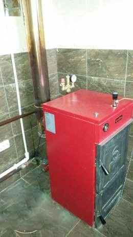 Котел твердотопливный RODA Brenner Classic BC-04 (21 кВт)