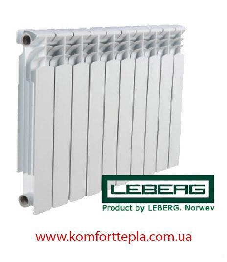 Алюминиевый радиатор Leberg 500*80