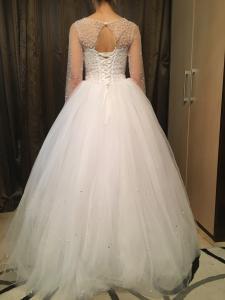 Фото Свадебные платья Агния (с фатой)