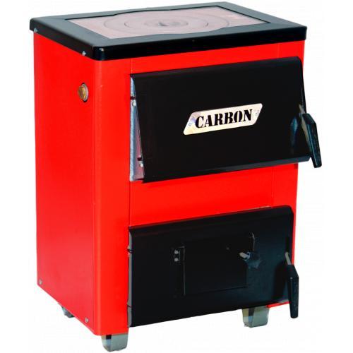 Фото Котлы отопления, Котлы твердотопливные, Твердотопливные котлы Carbon Котел твердотопливный Carbon КСТО-10 П New