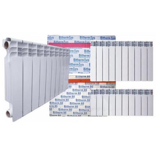 Биметаллический радиатор Bitherm 350*80