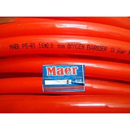 Труба для теплого пола Maer Pe-Rt 16x2 c кислородным барьером