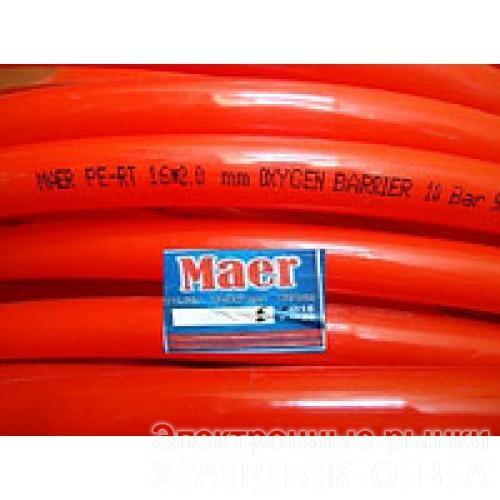 Труба для теплого пола Maer Pe-Rt 16x2 c кислородным барьером - Нагревательные кабели и маты для Теплый пол на рынке Барабашова