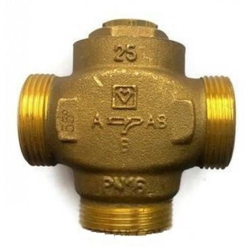 HERZ-TEPLOMIX DN 25 трехходовой термосмесительный клапан с отключаемым байпасом