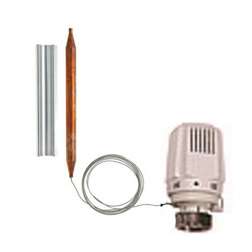 Термостастическая головка HERZ KLASSIK (20-50 °C) M 28x1,5 с накладным датчиком