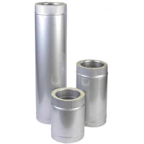 Труба для дымохода из нержавеющей стали с термоизоляцией  d 130/200