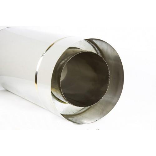 Труба для дымохода  (нерж/нерж) с термоизоляцией  d 150/220