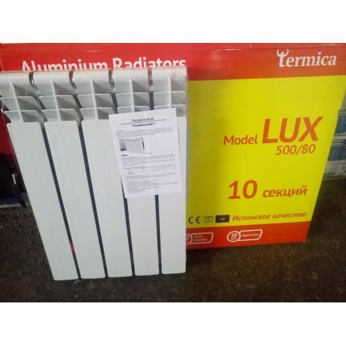 Алюминиевый радиатор  Termica Lux 500*80