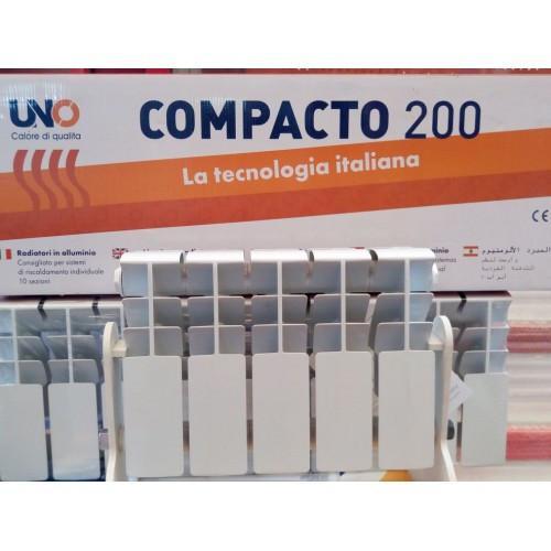 Алюминиевый радиатор UNO COMPACTO 200*100
