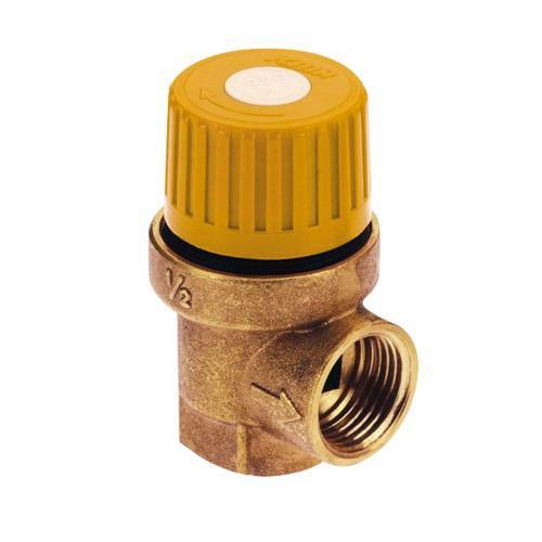 Предохранительный клапан для гелиосистемы 1/2 х 3/4 вв (6 бар) 'Icma' №S121