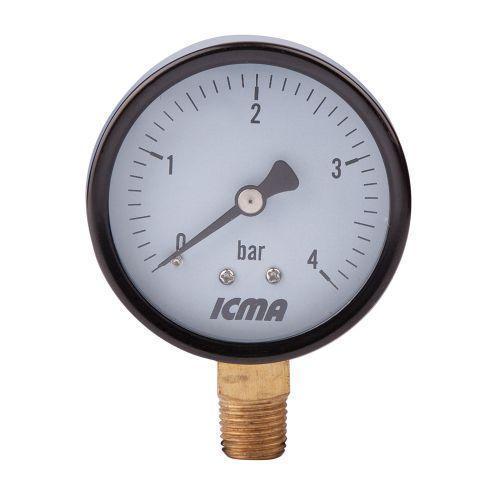 Манометр 1/4' (0 - 10 bar) ICMA арт.244