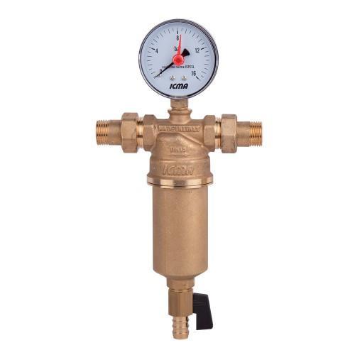 Самопромывной фильтр для воды 3/4' ICMA арт.751