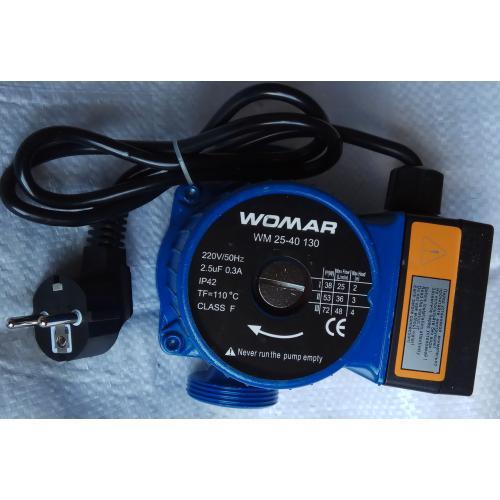 Циркуляционный насос Womar  WM 25-40 180