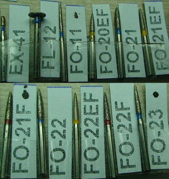 Алмазный бор EX-41 FL-12 FO-11 FO-20EF FO-21 FO-21EF FO-21F FO-22 FO-22EF FO-22F FO-23