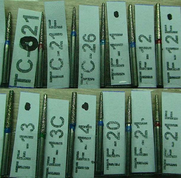 Бор алмазный TC-21F TC-26 TC-S21 TF-11 TF-12 TF-12F TF-13 TF-13C TF-14 TF-20 TF-21 TF-21F