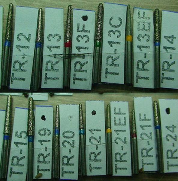 Бор алмазный TR-12 TR-13 TR-13C TR-13EF TR-13F TR-14 TR-15 TR-19 TR-20 TR-21 TR-21EF TR-21F TR-24