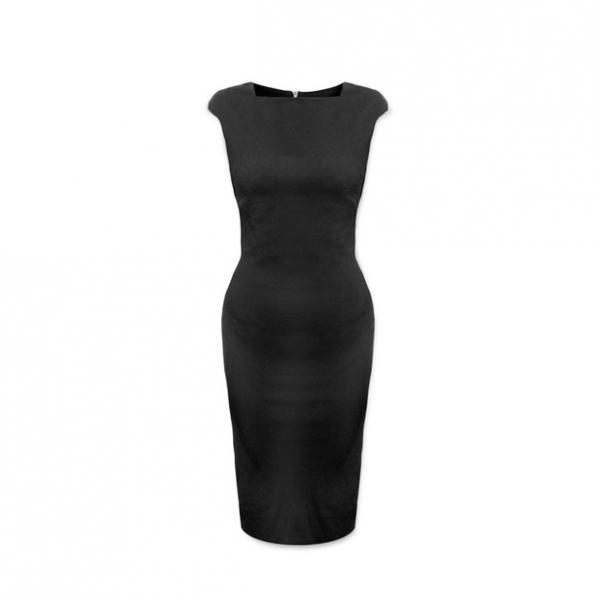 Платье avon изящный силуэт черное купить косметику матрикс оптом