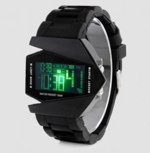 Фото Наручные часы Наручные светодиодные часы c будильником