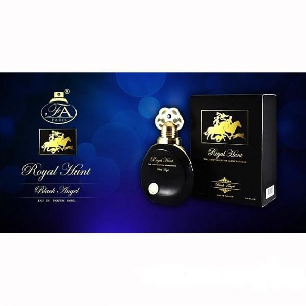 Fragrance World Royal Hunt Black Angel edp 100 ml. унисекс