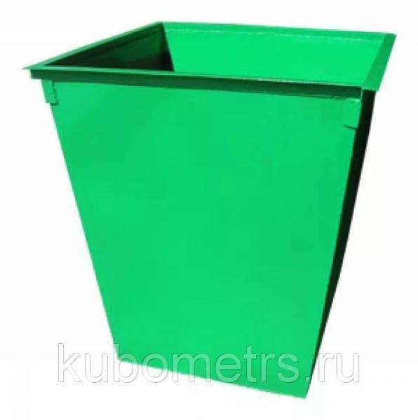 Мусорные контейнеры металлические 0,75м3