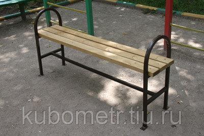 Деревянные скамейки парковые