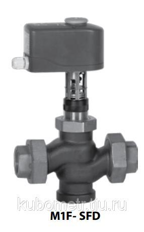 Клапан регулирующий Broen Clorius M1F-SFD односедельчатый сбалансированный, DN 15-50