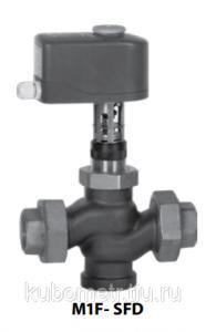 Фото  Клапан регулирующий Broen Clorius M1F-SFD односедельчатый сбалансированный, DN 15-50