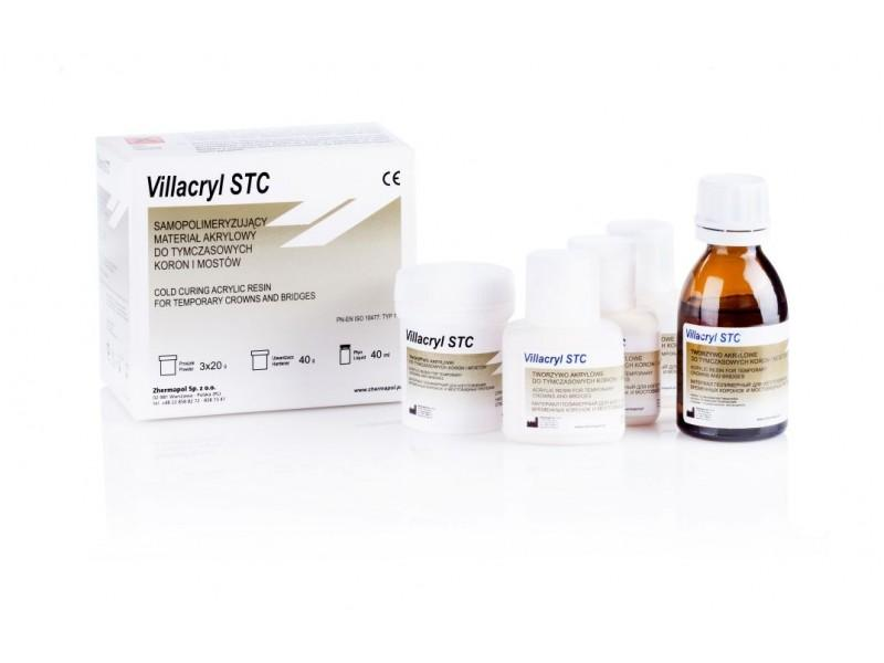 Villacryl STC для временных коронок (набор 3х20 гр.+40 мл.+40 мл.)